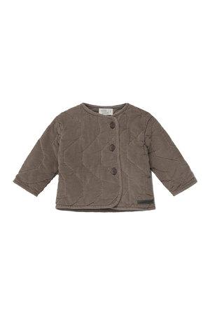 My little cozmo Lonan corduroy padded baby jacket - taupe