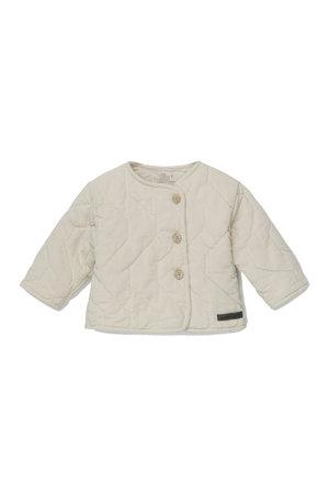 My little cozmo Lonan corduroy padded baby jacket - stone