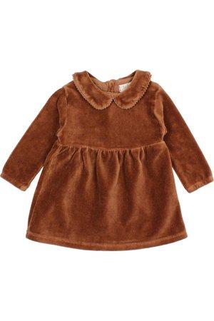 Buho Velvet dress - muscade