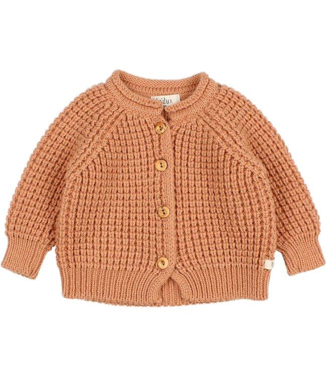 Baby soft knit cardigan - hazel
