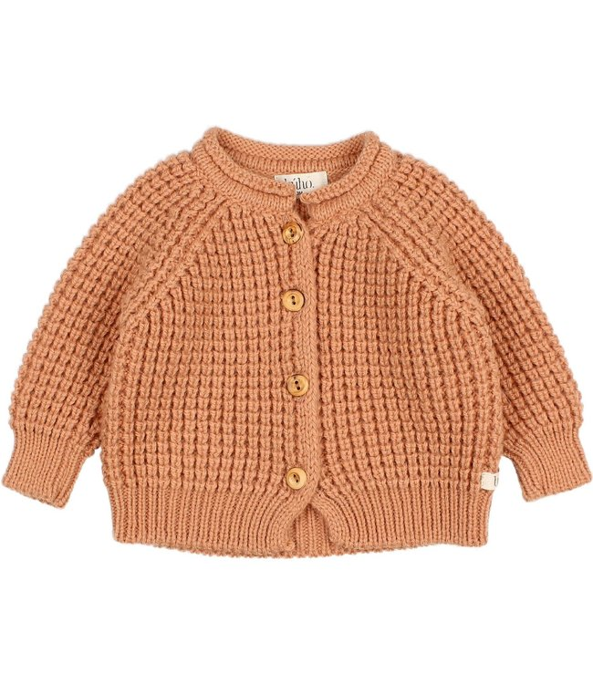 Buho Baby soft knit cardigan - hazel