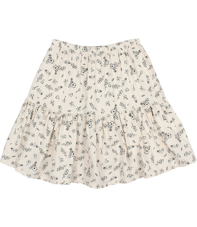 Buho Blossom skirt - stone