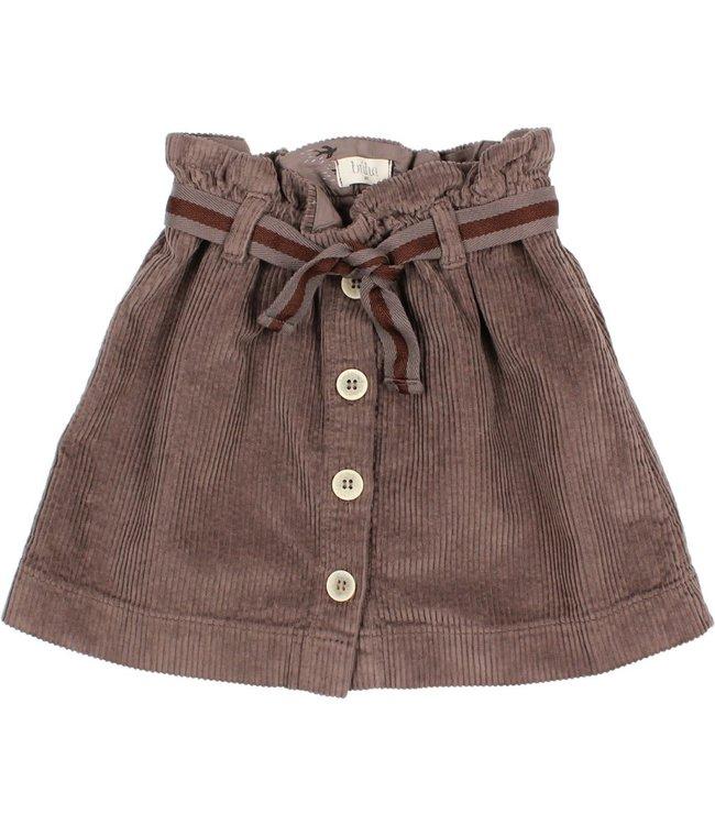Buho Corduroy skirt - taupe