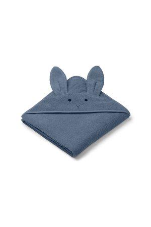 Liewood Augusta handdoek met capuchon - rabbit blue wave