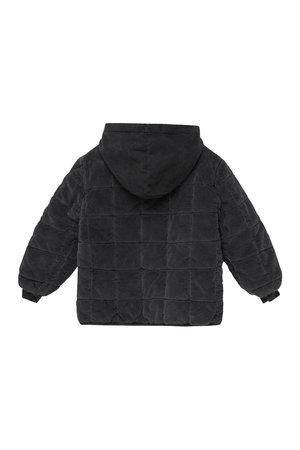 My little cozmo Silas corduroy kids padded jacket - dark grey