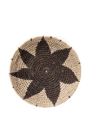 Sisal basket Zienzele earth colors Ø15 cm #530