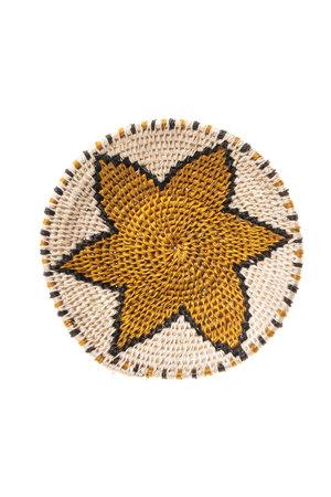 Sisal basket Zienzele earth colors Ø15 cm #531