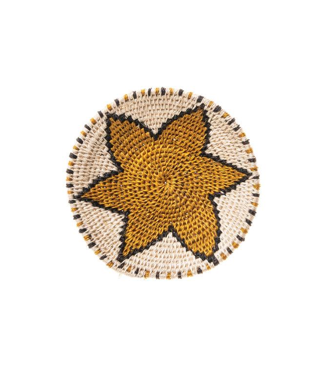 Sisal mand Zienzele aardetinten Ø15 cm #531
