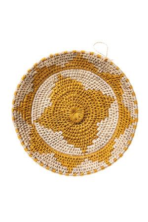 Sisal basket Zienzele earth colors Ø15 cm #533