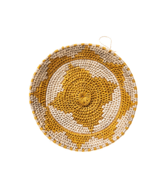 Sisal mand Zienzele aardetinten Ø15 cm #533