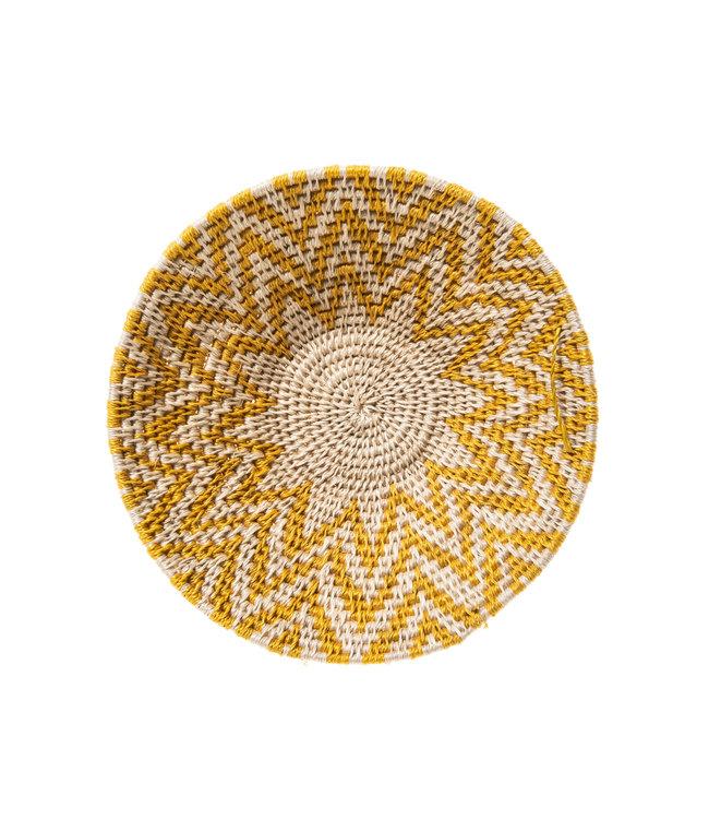 Sisal mand Zienzele aardetinten Ø20 cm #537