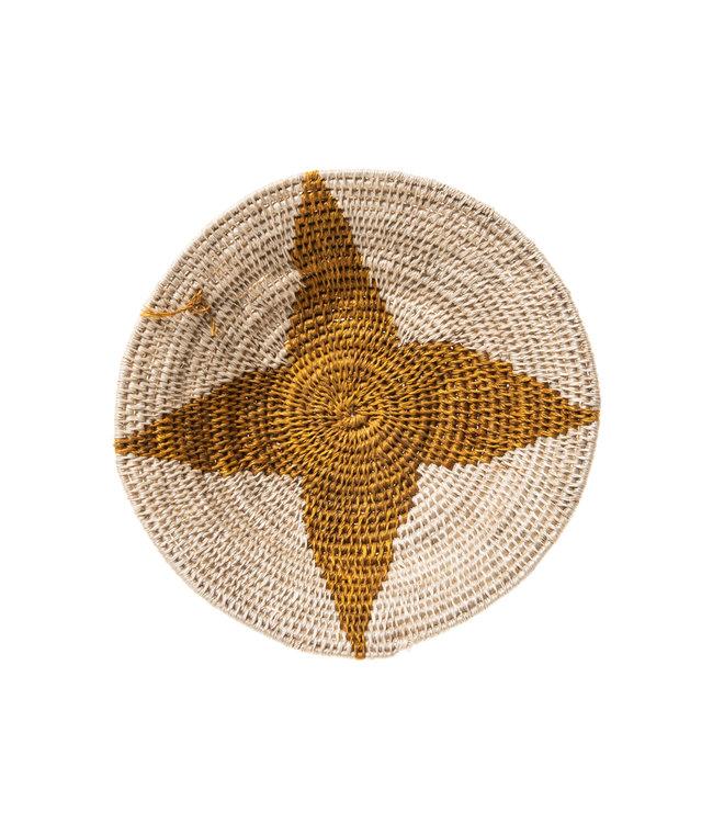 Sisal basket Zienzele earth colors Ø20 cm #539