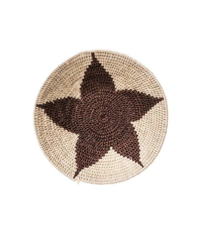 Sisal basket Zienzele earth colors Ø20 cm #540