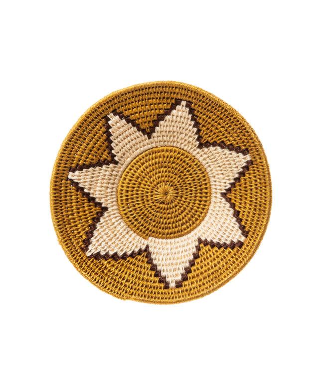 Sisal mand Zienzele aardetinten Ø20 cm #541