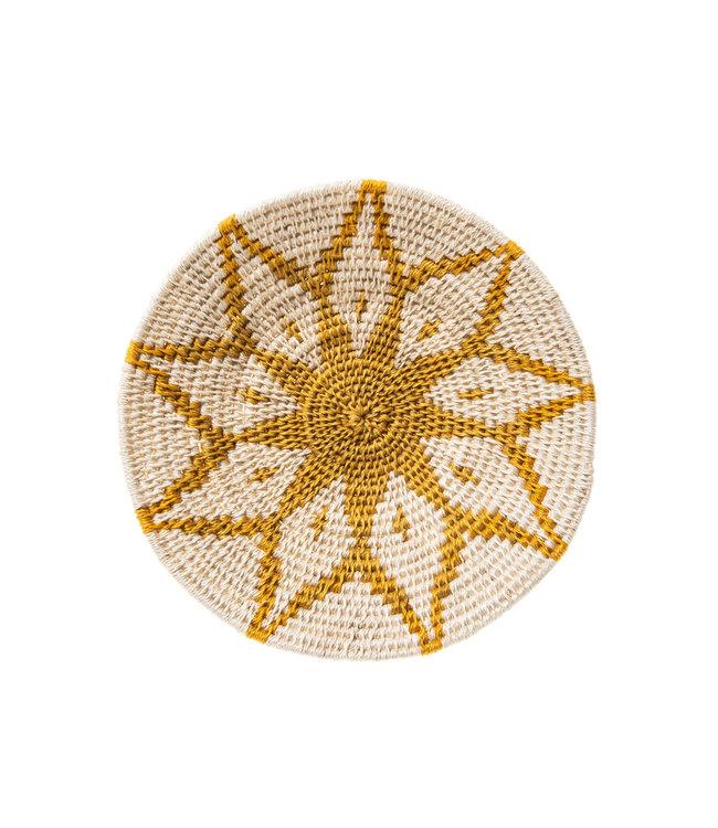Sisal mand Zienzele aardetinten Ø20 cm #542