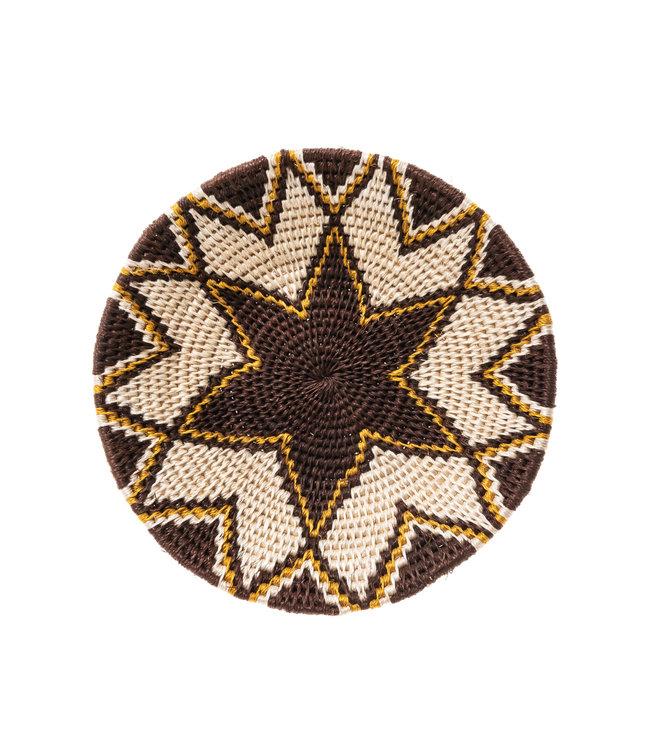 Sisal mand Zienzele aardetinten Ø20 cm #544