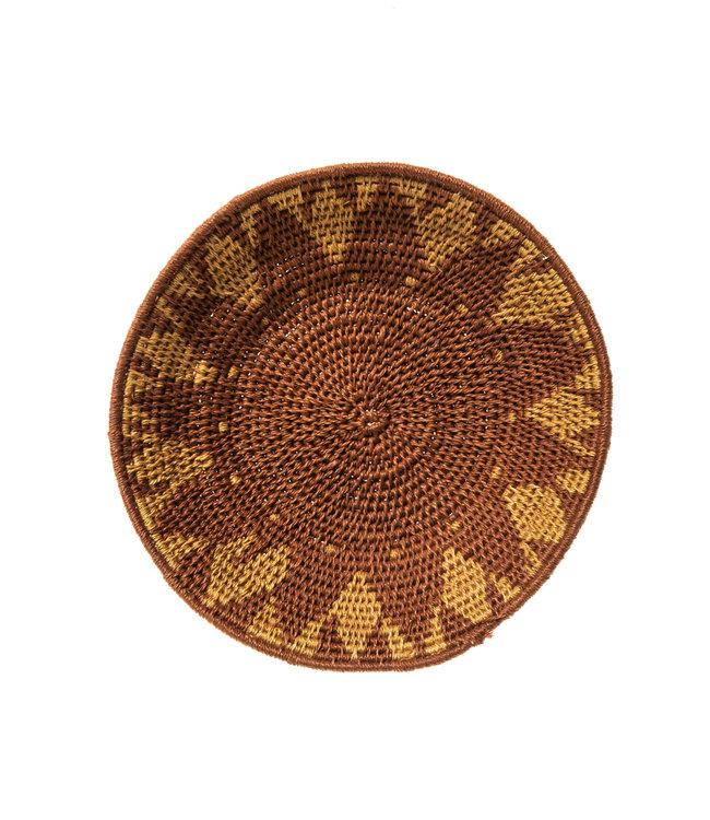 Sisal mand Zienzele aardetinten Ø20 cm #546