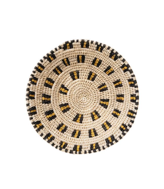 Sisal mand Zienzele aardetinten Ø20 cm #547