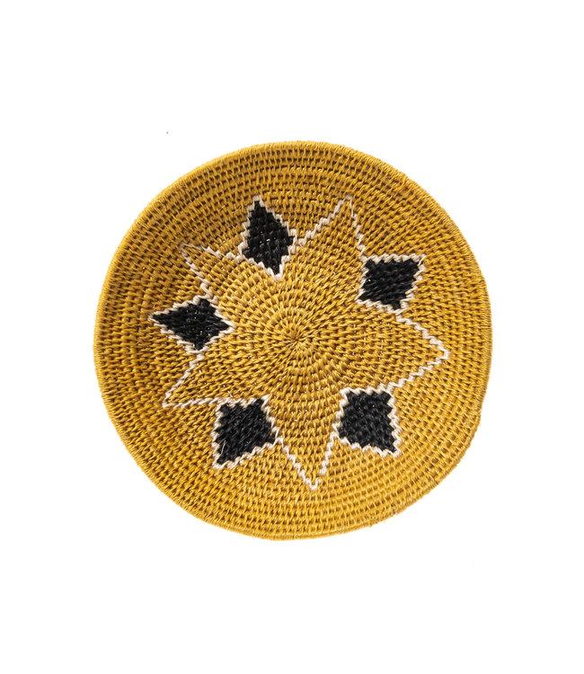 Sisal mand Zienzele aardetinten Ø20 cm #560