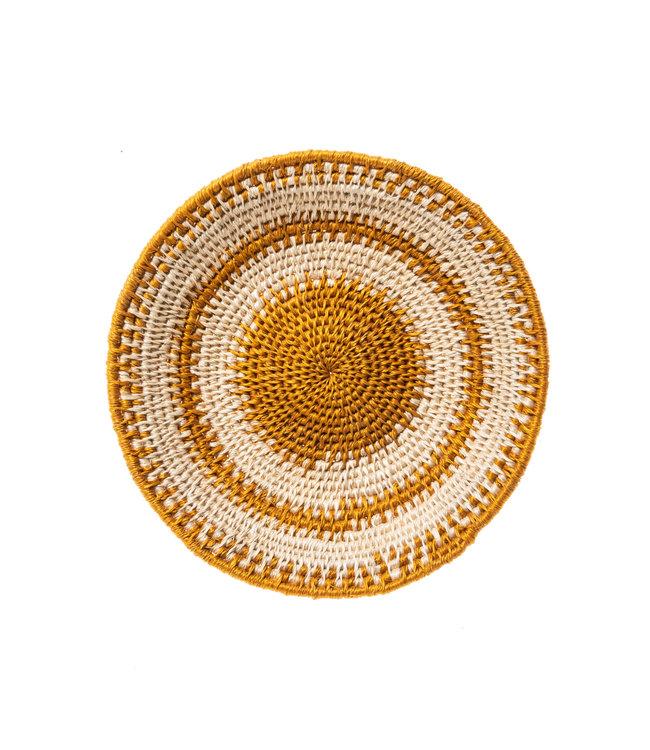 Sisal mand Zienzele aardetinten Ø20 cm #562
