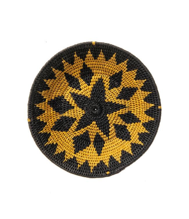 Sisal mand Zienzele aardetinten Ø20 cm #563