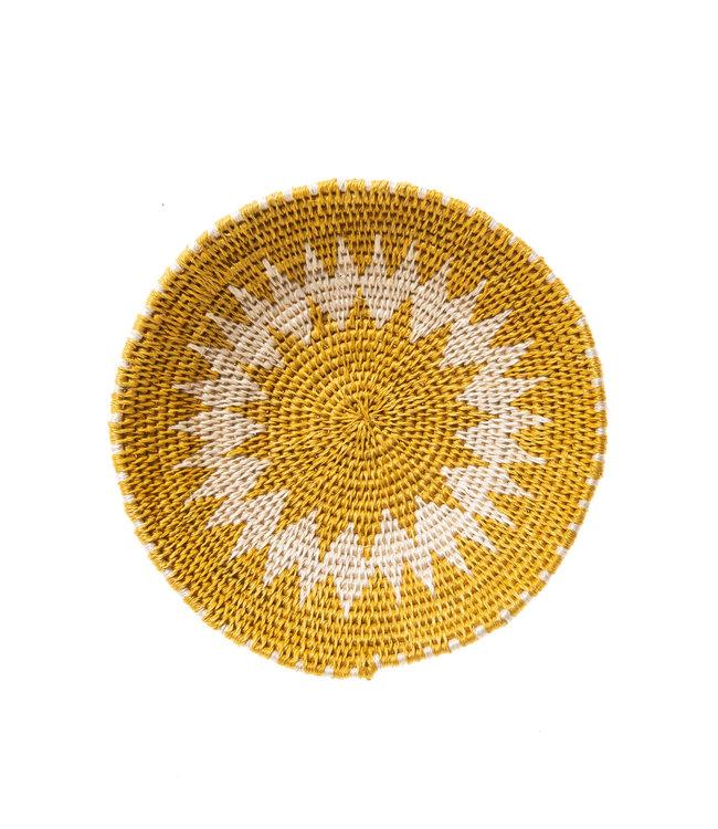 Sisal mand Zienzele aardetinten Ø20 cm #564