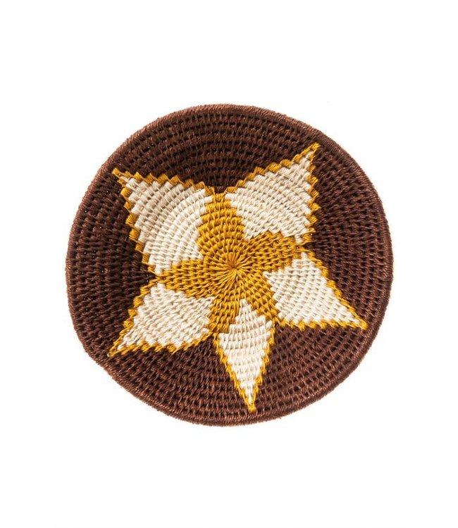 Sisal mand Zienzele aardetinten Ø20 cm #550