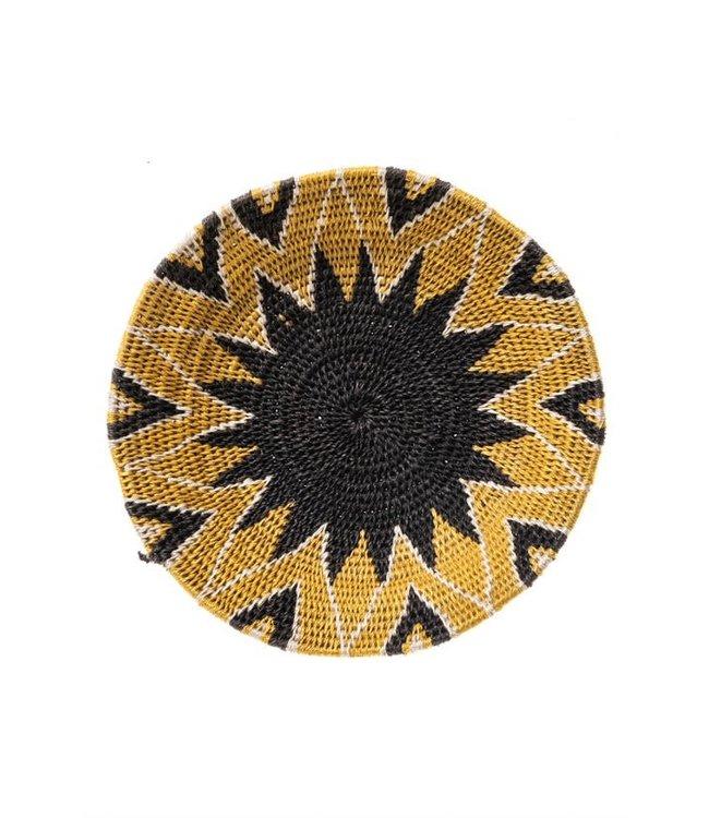 Sisal mand Zienzele aardetinten Ø20 cm #556