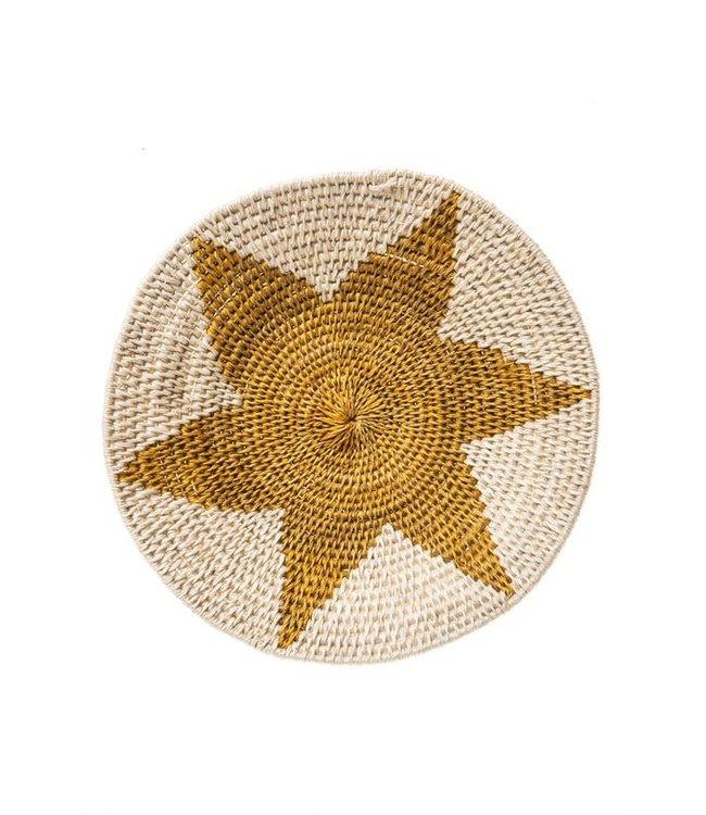 Sisal mand Zienzele aardetinten Ø20 cm #557