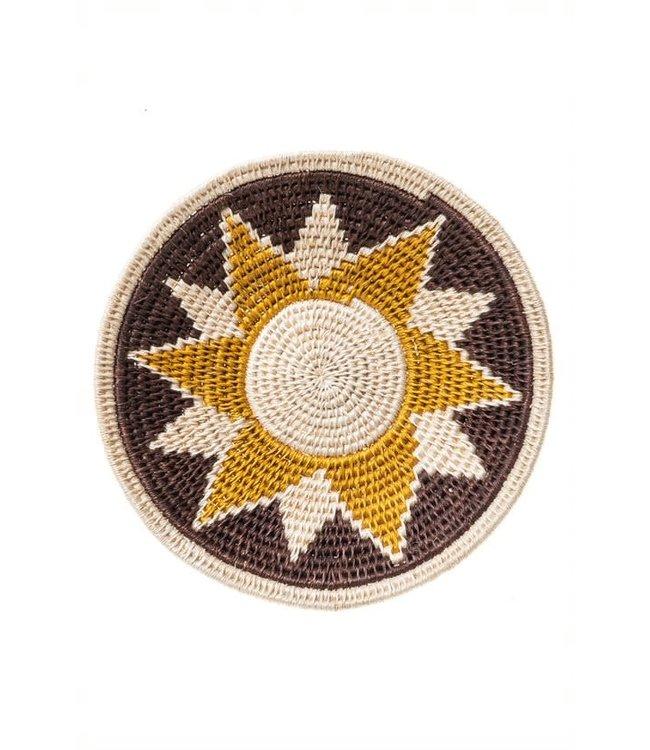 Sisal mand Zienzele aardetinten Ø20 cm #559