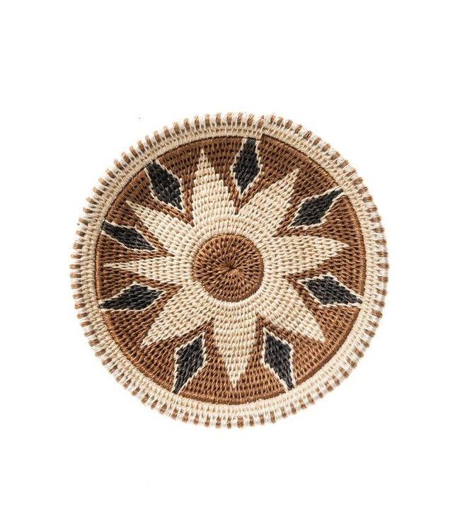 Sisal mand Zienzele aardetinten Ø20 cm #571