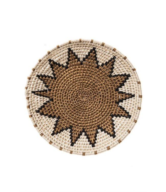 Sisal mand Zienzele aardetinten Ø20 cm #572