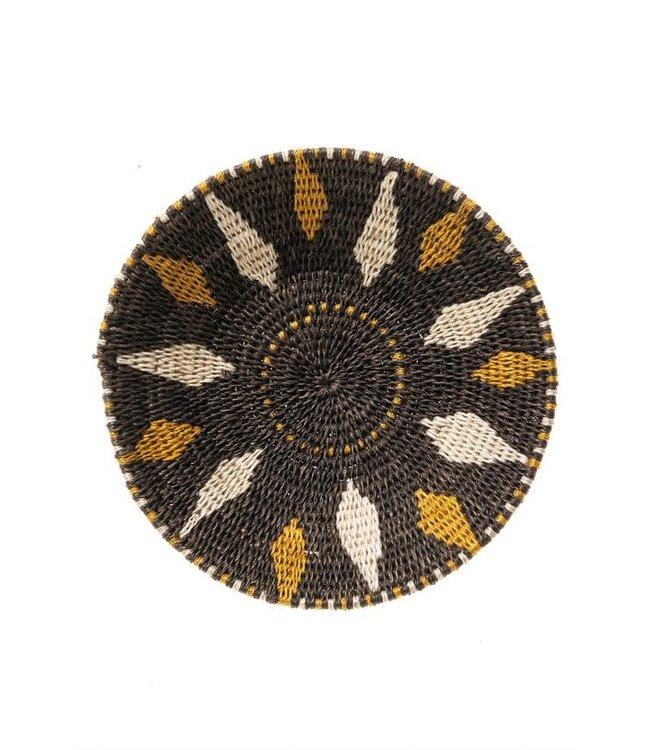 Sisal mand Zienzele aardetinten Ø20 cm #573