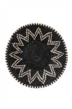 Sisal basket Zienzele black/white Ø20 cm #580