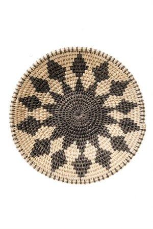 Sisal basket Zienzele black/white Ø20 cm #584