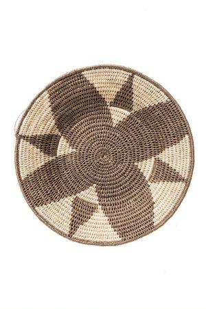 Sisal basket Zienzele earth colors Ø25 cm #589