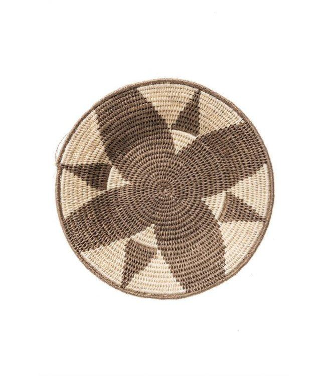 Sisal mand Zienzele aardetinten Ø25 cm #589