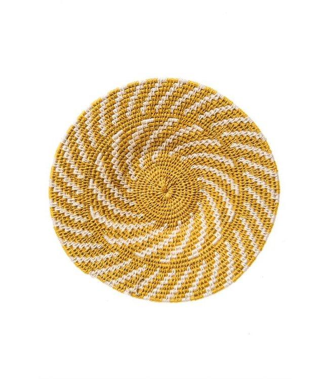 Sisal mand Zienzele aardetinten Ø25 cm #591