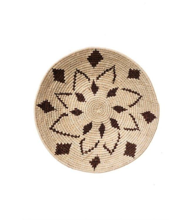 Sisal mand Zienzele aardetinten Ø25 cm #594