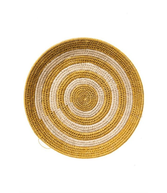 Sisal mand Zienzele aardetinten Ø25 cm #599