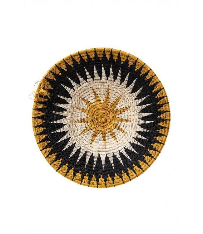 Sisal mand Zienzele aardetinten Ø25 cm #600
