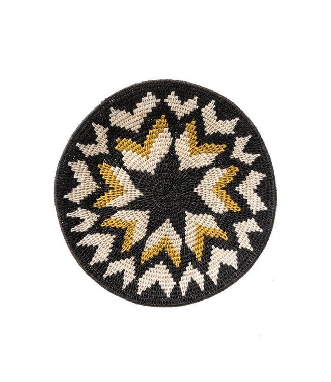Sisal mand Zienzele aardetinten Ø25 cm #602