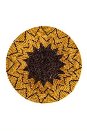 Sisal basket Zienzele earth colors Ø40 cm #683