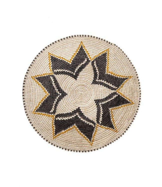 Sisal mand Zienzele aardetinten Ø45 cm #686