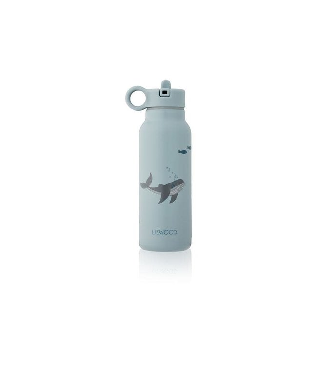 Falk water bottle - sea creature blue mix