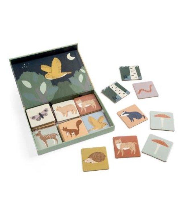 Sebra Memory game in a box - nightfall