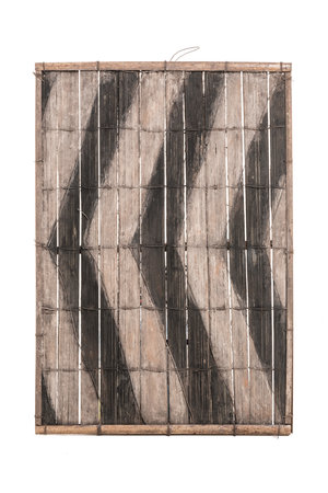 Old bamboo panel #34 - Salampasu