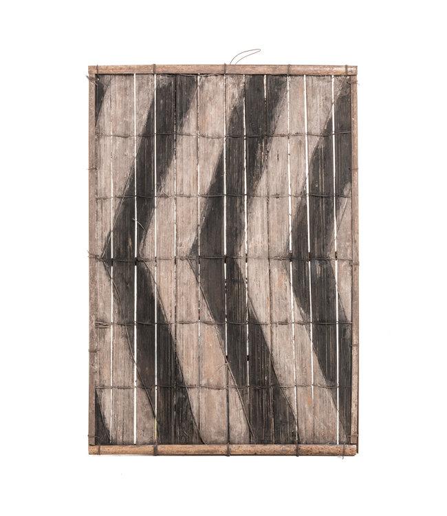 Oud bamboe paneel #34 - Salampasu