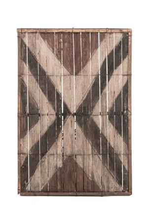 Old bamboo panel #35 - Salampasu