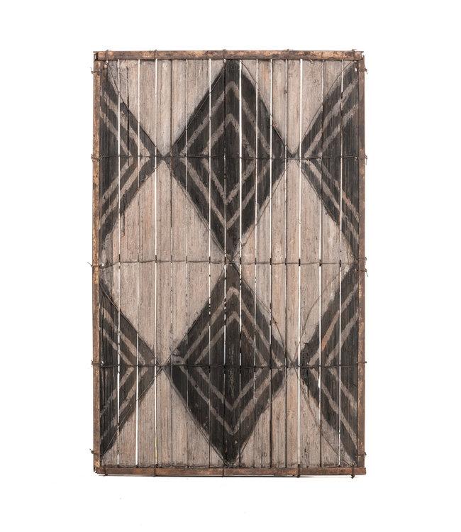 Oud bamboe paneel #36 - Salampasu